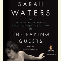 Cover art: The Paying Guests by Sarah Waters, audio edition