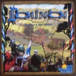 Cover art: Dominion Card Game box
