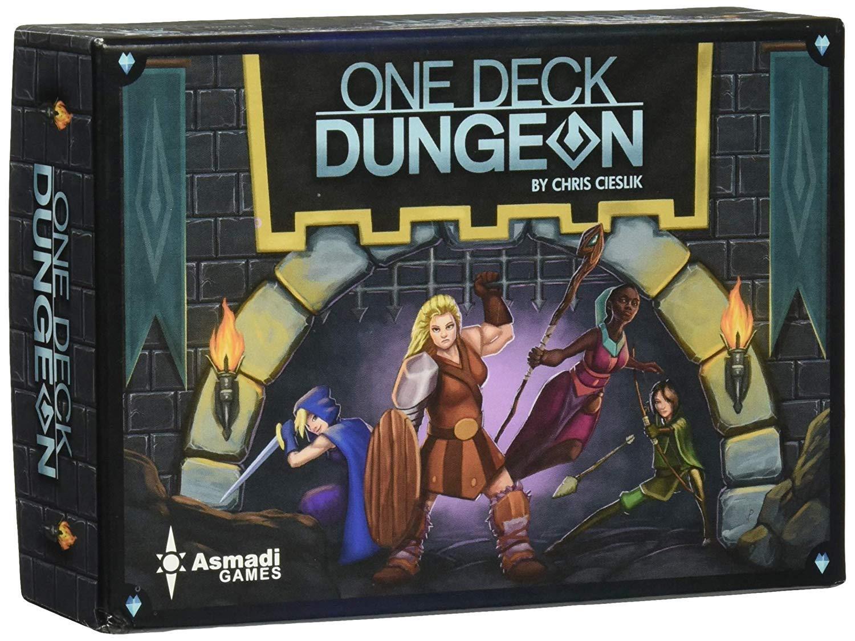 One Deck Dungeon Brilliant Books